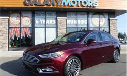 Make Ford Model Fusion Year 2017 Colour Red kms 20525 Trans Automatic Price: $25,995 Stock Number: B24778 VIN: 3FA6P0T91HR361416 Interior Colour: Black Engine: 2.0L ECOBOOST Cylinders: 4 Fuel: Gasoline AWD, New Tires, Accident-Free, Turbo, Fog Lights,