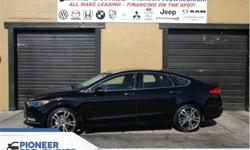 Make Ford Model Fusion Year 2017 Colour Black kms 24168 Trans Automatic Price: $26,888 Stock Number: HA1451 VIN: 3FA6P0D95HR361451 Engine: 231HP 2.0L 4 Cylinder Engine Fuel: Gasoline Low Mileage, Bluetooth, Rear View Camera, SYNC, Aluminum Wheels, Air