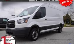 """Make Ford Model Transit Van Year 2017 Colour White Trans Automatic We are Canada's #1 KIA Retail Volume Dealer. Our volume purchasing power saves you money! Our motto """"we can replace vehicles, we cannot replace our customers!"""" is the reason we sell more"""