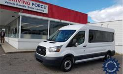 Make Ford Model Transit Wagon Year 2017 Colour White kms 23731 Trans Automatic Price: $40,950 Stock Number: 140714 VIN: 1FBZX2CMXHKA79226 Interior Colour: Grey Cylinders: 6 - Cyl Fuel: Gasoline This 2017 Ford Transit T-350 XL Medium Roof 12 Passenger Van