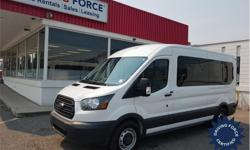 Make Ford Model Transit Wagon Year 2017 Colour White kms 21887 Trans Automatic Price: $40,950 Stock Number: 141674 VIN: 1FBZX2CM0HKA79221 Interior Colour: Grey Cylinders: 6 - Cyl Fuel: Gasoline This 12 passenger shuttle van comes with a medium roof
