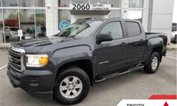 Make GMC Model Canyon Year 2017 kms 45426 Trans Automatic Price: $29,995 Stock Number: TC83519A VIN: 1GTG5BEN9H1223482 Engine: 308HP 3.6L V6 Cylinder Engine Fuel: Gasoline Enter the GMC Canyon, with a footprint not much bigger than the average family