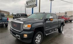 Make GMC Model Sierra 3500HD Year 2017 Colour Grey kms 54750 Trans Automatic Price: $72,948 Stock Number: 2850 VIN: 1GT42YEY5HF206948 Interior Colour: Black Engine: 6.6L V8 Turbo Engine Configuration: V-shape Cylinders: 8 Fuel: Leaded NO ACCIDENTS! TURBO