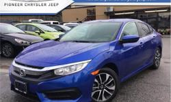 Make Honda Model Civic Sedan Year 2017 Colour Blue kms 18894 Trans Automatic Stock Number: DA9101 VIN: 2HGFC2F54HH009101 Engine: 158HP 2.0L 4 Cylinder Engine Fuel: Gasoline Low Mileage, A/C, Bluetooth, Rear View Camera, Premium Audio, Heated Seats! Check