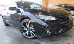 Make Honda Model Civic Year 2017 Colour Black kms 9697 Trans Manual Price: $26,995 Stock Number: QDX1808A VIN: 2HGFC3A50HH220180 Interior Colour: Black Engine: 1.5L I-4 DOHC 16-Valve Turbocharged Fuel: Gasoline Keyless Start, Heated Seats, Steering Wheel