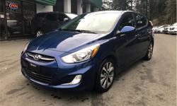 Make Hyundai Model Accent Year 2017 Colour Blue kms 44300 Trans Automatic Price: $12,998 Stock Number: A1178 VIN: KMHCT5AE8HU304429 Interior Colour: Grey Cylinders: 4 - Cyl Fuel: Gasoline 2017 Hyundai Accent SE 1.6 Hatchback  Please note, our buying