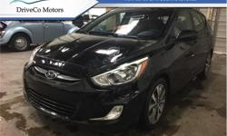 Make Hyundai Model Accent Year 2017 Colour Black kms 44915 Trans Automatic Price: $19,995 Stock Number: DE1168 VIN: KMHCT5AE4HU341168 Engine: 137HP 1.6L 4 Cylinder Engine Fuel: Gasoline Sunroof, Bluetooth, Heated Seats, Aluminum Wheels, Fog Lamps! # 1 NEW