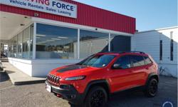 Make Jeep Model Cherokee Year 2017 Colour Red kms 40814 Trans Automatic Price: $32,990 Stock Number: 136241 VIN: 1C4PJMBS5HW590903 Interior Colour: Black Cylinders: 6 - Cyl Fuel: Gasoline This 2017 Jeep Cherokee Trailhawk 5 Passenger 4X4 SUV is loaded