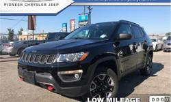 Make Jeep Model Compass Year 2017 Colour Black kms 16293 Trans Automatic Price: $29,994 Stock Number: A4355 VIN: 3C4NJDDB1HT674355 Engine: 180HP 2.4L 4 Cylinder Engine Fuel: Gasoline Low Mileage, Leather Seats, Bluetooth, Rear View Camera, SiriusXM! Check