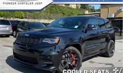 Make Jeep Model Grand Cherokee Year 2017 Colour Black kms 26503 Trans Automatic Price: $65,888 Stock Number: A9525 VIN: 1C4RJFDJ1HC959525 Engine: 475HP 6.4L 8 Cylinder Engine Fuel: Gasoline Low Mileage, Navigation, Leather Seats, Bluetooth, Cooled Seats,