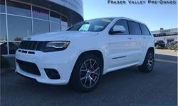 Make Jeep Model Grand Cherokee Year 2017 Colour White kms 10309 Trans Automatic Price: $67,888 Stock Number: BA8390 VIN: 1C4RJFDJ5HC718390 Engine: 475HP 6.4L 8 Cylinder Engine Fuel: Gasoline Low Mileage, Navigation, Back Up Camera, Air, Rear Air, Tilt! We