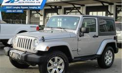 Make Jeep Model Wrangler Year 2017 Colour Silver kms 13882 Trans Automatic Price: $38,290 Stock Number: ZA2357 VIN: 1C4AJWBG2HL532357 Interior Colour: Black Engine: 285HP 3.6L V6 Cylinder Engine Fuel: Gasoline Low Mileage, Bluetooth, Air Conditioning,