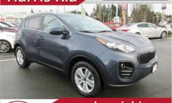 Make Kia Model Sportage Year 2017 Colour Storm Blue kms 66176 Trans Automatic Price: $22,995 Stock Number: K18-201A VIN: KNDPMCAC6H7110406 Interior Colour: Black Cloth Engine: 4 Cylinder 2.4 Litre Fuel: Gasoline Like New! Warranty. Low Kilometers. AWD.