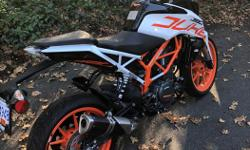 Make KTM Model Duke Year 2017 kms 2684 Mint Condition 2017 KTM 390 Duke. Bought new, never been dropped. Very fun bike to ride and suitable for a wide range of riders from beginner to expert. Looking to sell as I am moving on to a different hobby! Other
