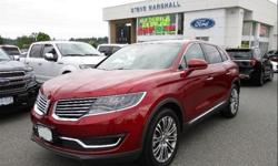 Make Lincoln Model MKX Year 2017 Colour Ruby Red Metallic Tinted Clearcoat kms 3944 Trans Automatic Price: $46,888 Stock Number: 92330 VIN: 2LMPJ8LR5HBL11762 Interior Colour: Black Leather Engine: 3.7L TiVCT V6 Engine Twin Panel Sunroof, Navigation, Rear