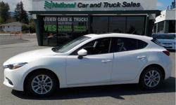 Make Mazda Model MAZDA3 Year 2017 Colour White kms 19700 Trans Automatic Price: $20,997 Stock Number: A1266 VIN: JM1BN1L72H1141084 Interior Colour: Grey Cylinders: 4 - CYL Sunroof, heated front seats, alloy wheels, fog lights, and, of course, air