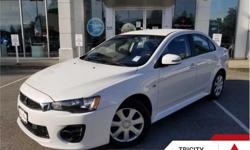 Make Mitsubishi Model Lancer Year 2017 Colour White kms 48098 Trans Automatic Price: $17,995 Stock Number: TC4606 VIN: JA32U2FU0HU604606 Engine: 148HP 2.0L 4 Cylinder Engine Fuel: Gasoline This vehicle qualifies for certified pre-owned benefits, which