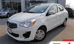 Make Mitsubishi Model Mirage Year 2017 Colour Pearl White kms 7 Trans Manual Price: $13,995 Stock Number: 175215 VIN: ML32F3FJ3HHF15215 Interior Colour: BLACK, SPORT FABRIC SEATING SURFACES Engine: 78HP 1.2L 3 Cylinder Engine Fuel: Gasoline Air, Power