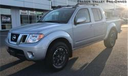 Make Nissan Model Frontier Year 2017 Colour Silver kms 2103 Trans Automatic Price: $35,995 Stock Number: BA1075 VIN: 1N6AD0EV8HN761075 Engine: 261HP 4.0L V6 Cylinder Engine Fuel: Gasoline Low Mileage! We hand select every vehicle we purchase, offering our
