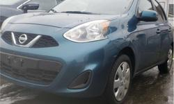 Make Nissan Model Micra Year 2017 Colour Caspian Sea kms 16201 Trans Automatic Price: $13,995 Stock Number: N20470 VIN: 3N1CK3CP5HL240700 Interior Colour: Black Engine: 1.6L Inline4 Engine Configuration: Inline Cylinders: 4 Fuel: Regular Unleaded
