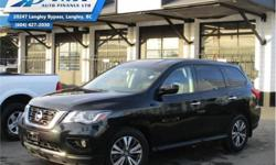 Make Nissan Model Pathfinder Year 2017 Colour Black kms 42125 Trans Automatic Price: $29,990 Stock Number: ZA6635 VIN: 5N1DR2MMXHC686635 Engine: 284HP 3.5L V6 Cylinder Engine Fuel: Gasoline Check out our large selection of pre-owned vehicles today!