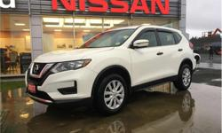 Make Nissan Model Rogue Year 2017 Colour White kms 13579 Price: $24,840 Stock Number: R19006A VIN: 5N1AT2MV5HC758340 Interior Colour: Black Engine: 2.5L Inline4 Engine Configuration: Inline Cylinders: 4 Fuel: Regular Unleaded AWD, heated seats, back-up