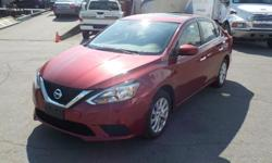 Make Nissan Model Sentra Year 2017 Colour Red kms 42780 Trans Automatic Stock #: BC0030308 VIN: 3N1AB7AP9HY315662 2017 Nissan Sentra SV, 1.8L, 4 cylinder, 4 door, automatic, FWD, 4-Wheel ABS, cruise control, air conditioning, AM/FM radio, CD player,