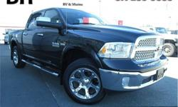 Make Ram Model 1500 Year 2017 Colour Black kms 12177 Trans Automatic Price: $45,321 Stock Number: CCX1718A VIN: 1C6RR7NT9HS650090 Interior Colour: Black Engine: 5.7L HEMI VVT V8 w/FuelSaver MDS Fuel: Regular Unleaded Low Mileage, Sunroof, Leather Trimmed