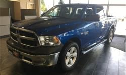 Make Ram Model 1500 Year 2017 Colour Blue kms 3127 Trans Automatic Price: $36,995 Stock Number: 19028A VIN: 3C6RR7KT2HG672119 Engine: 5.7L HEMI VVT V8 w/FuelSaver MDS Fuel: Gasoline Touchscreen entertainment. Backup camera. Side-step. Seats 6. Bed liner.