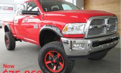 Make Ram Model 3500 Year 2017 Colour Red kms 49 Trans Automatic Price: $74,971 Stock Number: P2911 VIN: 3C63R3ELXHG691902 Interior Colour: Black Engine: 6.7L Cummins I-6 Turbo Diesel Fuel: Diesel On sale for $75,869! Low Mileage, Leather Seats, Heated