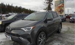 Make Toyota Model RAV4 Year 2017 Colour Grey kms 44228 Trans Automatic Price: $25,998 Stock Number: 143140 VIN: 2T3BFREV0HW640958 Interior Colour: Black Cylinders: 4 - Cyl Fuel: Gasoline This 2017 Toyota RAV4 LE 5 Passenger All Wheel Drive SUV comes with