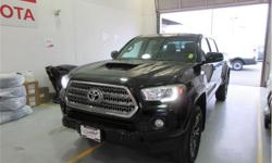 Make Toyota Model Tacoma Year 2017 Colour Black kms 66538 Trans Automatic Price: $37,995 Stock Number: 20336AX VIN: 5TFDZ5BN0HX015761 Interior Colour: Black Fuel: Regular Unleaded Call us toll-free at 1 877 295-1367