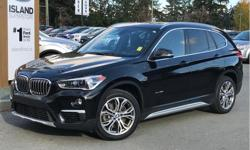Make BMW Model X1 Year 2018 Colour Black kms 31434 Price: $34,100 Stock Number: CB104 VIN: WBXHT3C33J5F89587 Interior Colour: Black Engine: I-4 cyl Fuel: Gasoline All wheel drive, heated seats, heated steering wheel, leather, memory, twin panel moonroof,