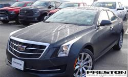 Make Cadillac Model ATS Year 2018 Colour Grey kms 13843 Trans Automatic Price: $35,995 Stock Number: X26151 VIN: 1G6AF5RX0J0137895 Interior Colour: Black Local, clean accident free history on car proof, extra clean in and out, well kept by the owner,