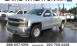 Make Chevrolet Model Silverado 1500 Year 2018 Colour Silver Ice Metallic kms 33667 Trans Automatic Price: $42,300 Stock Number: 108102 VIN: 3GCUKRECXJG116290 Engine: Gas V8 5.3L/325 Cylinders: 8 Fuel: Gasoline We're excited to offer this impressive 2018