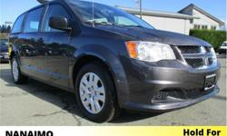 Make Dodge Model Grand Caravan Year 2018 Colour Grey kms 36116 Trans Automatic Price: $35,535 Stock Number: D-8CV1471 VIN: 2C4RDGBG1JR181471 Engine: 3.6L Pentastar VVT V6 Cruise Control. Roof Rack. At Nanaimo Chrysler all pre-owned vehicles have been