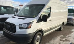 Make Ford Model Transit Van Year 2018 Colour White kms 42386 Trans Automatic Price: $39,980 Stock Number: 153643 VIN: 1FTYR3XM9JKA49478 Interior Colour: Grey Cylinders: 6 - Cyl Fuel: Gasoline This 2018 Ford Transit T-250 Extended Length High Roof Cargo