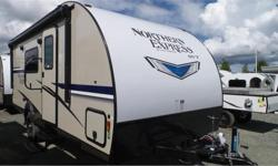 Price: $24,561 Stock Number: R431 2018 Gulf Stream Northern Express SVT Series 19FMB Quality you can count on in the Great OutdoorsNorthern Express travel trailers feature our signature vacuum-bonded laminated fiberglass walls and aluminum frames, to give