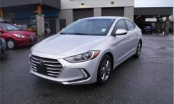 Make Hyundai Model Elantra Year 2018 Colour Silver kms 44623 Trans Automatic Price: $18,495 Stock Number: D24954 VIN: KMHD84LF1JU479567 Interior Colour: Black Galaxy Motors is the #1 used car dealership on Vancouver Island with 4 locations to serve you in