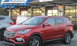 Make Hyundai Model Santa Fe Sport Year 2018 Colour Red kms 16268 Trans Automatic Price: $27,990 Stock Number: ZAT8793 VIN: 5XYZUDLB5JG558793 Engine: 185HP 2.4L 4 Cylinder Engine Fuel: Gasoline Low Mileage, Heated Seats, Rear View Camera, Bluetooth,