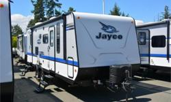 Price: $33,950 Stock Number: 833124-4067 VIN: 1UJBJ0BM6J1JG0090 Interior Colour: Desert Jayco Jay Feather travel trailer 23BHM highlights: Murphy Bed Large U-Dinette Rear Bunk Beds Two Entry Doors   You can have easy access inside this Jayco Jay