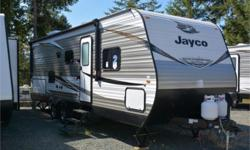 Price: $35,495 Stock Number: 938007-4268 VIN: 1UJBJ0BN2K75R0162 Interior Colour: Wheat Jayco Jay Flight SLX Western Edition 242BHSW travel trailer highlights: Double Size Bunks Semi-Private Bedroom U-Shaped Dinette Outside Kitchen  It's time to