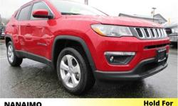 Make Jeep Model Compass Year 2018 Colour Red kms 21896 Trans Automatic Price: $26,995 Stock Number: 9CH2708A VIN: 3C4NJDBB5JT214365 Interior Colour: Black Engine: Inline 4 Fuel: Regular Unleaded One Owner. No Accidents. Navigation. Rear View Backup