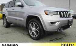Make Jeep Model Grand Cherokee Year 2018 Colour White kms 17132 Trans Automatic Price: $45,995 Stock Number: 8GC0836A VIN: 1C4RJFBT8JC214622 Engine: HEMI V8 Fuel: Gasoline One Owner. No Accidents. Panoramic Sunroof. Navigation. Rear View Backup Camera,