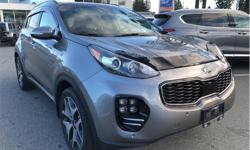 Make Kia Model Sportage Year 2018 Colour Grey kms 13238 Trans Automatic Price: $35,988 Stock Number: KH037537A VIN: KNDPRCA6XJ7345117 Interior Colour: Black Engine: 2.0L TGDI Fuel: Regular Unleaded Are you from out of town? Ask about our Out Of Town