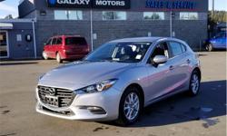 Make Mazda Model Mazda3 Sport Year 2018 Colour Silver kms 24632 Trans Automatic Price: $22,995 Stock Number: X25220 VIN: JM1BN1L71J1172056 Interior Colour: Black Engine: 2.0L SKYACTIV-G DOHC 16-Valve I4 Cylinders: 4 Fuel: Gasoline Back Up Camera, Keyless