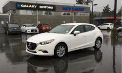 Make Mazda Model Mazda3 Sport Year 2018 Colour White kms 21131 Trans Automatic Price: $21,995 Stock Number: X25219 VIN: JM1BN1L72J1177458 Interior Colour: Black Engine: 2.0L SKYACTIV-G DOHC 16-Valve I4 Cylinders: 4 Fuel: Gasoline Auto On/Off Headlights,