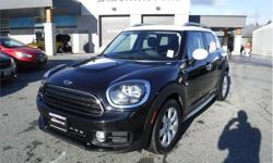 Make MINI Model Countryman Year 2018 Colour Black kms 15841 Trans Automatic Price: $30,995 Stock Number: P25157 VIN: WMZYV5C31J3E03656 Interior Colour: Black Engine: 1.5L 3-Cylinder 12V Twin Power Turbo Cylinders: 3 Fuel: Gasoline Accident Free, BC Only,