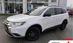 Make Mitsubishi Model Outlander Year 2018 Colour Diamond White Pearl kms 7820 Trans Automatic Price: $31,995 Stock Number: 186052A VIN: JA4JZ3AX8JZ606872 Interior Colour: Black Engine: 224HP 3.0L V6 Cylinder Engine Fuel: Gasoline This vehicle qualifies