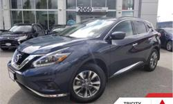 Make Nissan Model Murano Year 2018 Colour Blue kms 26794 Trans Automatic Price: $32,995 Stock Number: TC4016 VIN: 5N1AZ2MHXJN104016 Engine: 260HP 3.5L V6 Cylinder Engine Fuel: Gasoline Sunroof, Navigation, Heated Seats, Heated Steering Wheel, Power